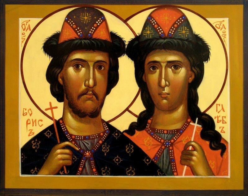 Борис и Глеб. 1000 лет мученической кончины.