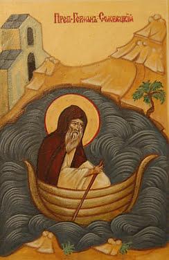 Картинки по запросу Преподобный Герман Соловецкий икона